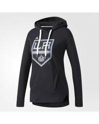 Adidas - Black Kings Logo Shine Hoodie - Lyst