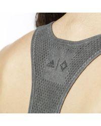 Adidas - Black Wanderflow Warp Knit Tank Top - Lyst