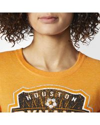 Adidas - Orange Houston Dynamo Tee - Lyst