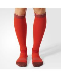 Adidas - Red Running Energy Compression Socks 1 Pair for Men - Lyst