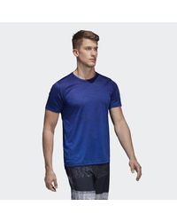 Adidas - Blue Freelift Gradient Tee for Men - Lyst