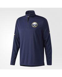 Adidas - Blue Sabres Authentic Pro Jacket for Men - Lyst