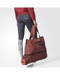 Adidas - Red Yoga Bag - Lyst