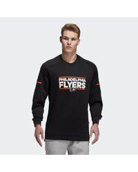 c5468012 Lyst - adidas Flyers Squad Crew Sweatshirt in Black for Men