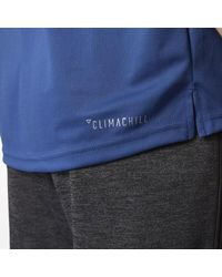 Adidas - Blue Maple Leafs Pro Locker Room Polo Shirt for Men - Lyst