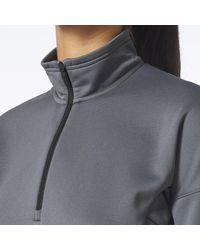 Adidas - Gray Terrex Tivid Fleece Jacket - Lyst