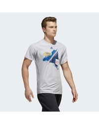 Adidas - Multicolor Split State 2018 Winter Classic Tee for Men - Lyst