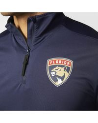 Adidas - Blue Panthers Authentic Pro Jacket for Men - Lyst
