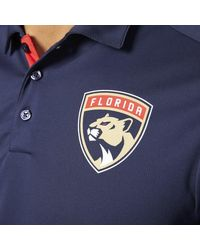 Adidas - Blue Panthers Pro Locker Room Polo Shirt for Men - Lyst