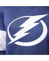Adidas - Blue Lightning Jersey Replica Pullover Hoodie for Men - Lyst
