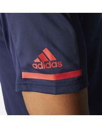 Adidas - Blue Capitals Pro Locker Room Polo Shirt for Men - Lyst