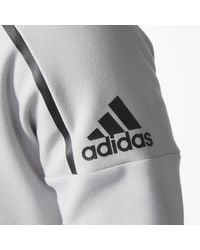 Adidas - Gray King Z.n.e. Pulse Hoodie for Men - Lyst