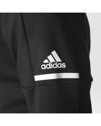 Adidas - Black Red Wings Pro Squad Id Hoodie for Men - Lyst