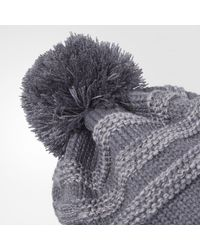 Adidas - Gray Recon Beanie for Men - Lyst