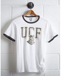 Tailgate White Men's Ucf Knights Ringer T-shirt for men