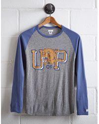 Tailgate Gray Men's Pittsburgh Panthers Baseball Shirt for men