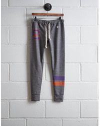 Tailgate Gray Women's Clemson Terry Fleece Sweatpant
