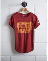 Tailgate Red Women's Iowa State Cyclones T-shirt