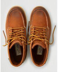 American Eagle - Brown Eastland Lumber Up Moc Toe Boot for Men - Lyst