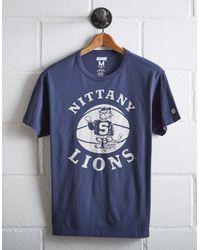 Tailgate Blue Men's Penn State Basketball T-shirt for men