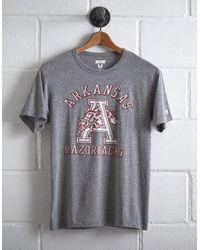 Tailgate - Gray Men's Arkansas Razorbacks T-shirt for Men - Lyst