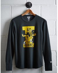 Tailgate Multicolor Men's Iowa Hawkeyes Thermal Shirt for men
