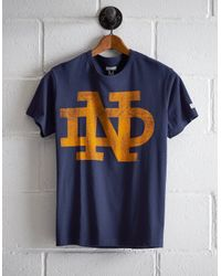 Tailgate Blue Men's Notre Dame T-shirt for men