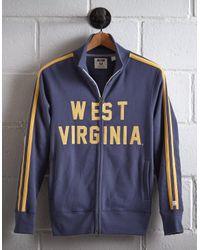 Tailgate Blue Men's West Virginia Track Jacket for men