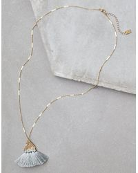 American Eagle - Metallic Ae Circle Necklace - Lyst