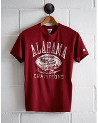 Tailgate Red Men's Alabama Rose Bowl T-shirt for men