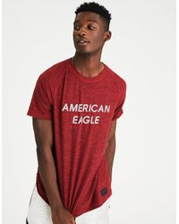 75df5b36 Lyst - American Eagle Ae Active Graphic Tee in Red for Men