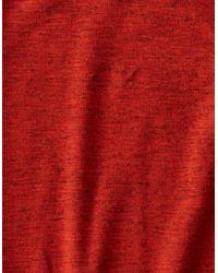 American Eagle - Orange Ae Raglan Thermal Shirt for Men - Lyst