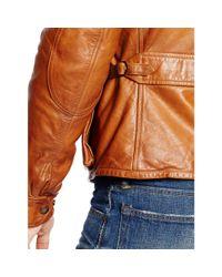 Polo Ralph Lauren | Brown Southbury Leather Biker Jacket for Men | Lyst