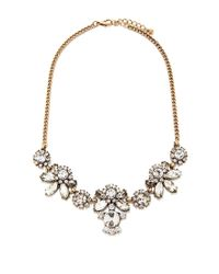 Forever 21 | Metallic Faux Gem Rhinestone Necklace | Lyst