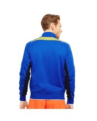 Ralph Lauren | Blue Color-blocked Track Jacket for Men | Lyst
