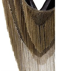 Isabel Marant - Metallic Linares Fringed Chain Necklace - Lyst