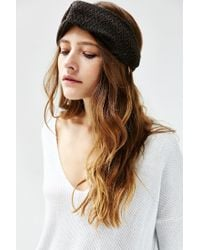 Urban Outfitters - Green Cozy Cabin Headwrap - Lyst