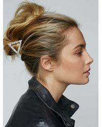 Free People - Metallic Womens It Girl Hair Clip - Lyst