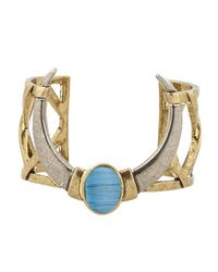 House of Harlow 1960 | Blue Ankolie Horn Cuff | Lyst