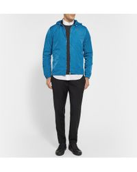 Acne Studios | Blue Wilfred Hooded Shell Windbreaker for Men | Lyst