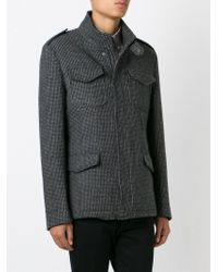 Etro - Gray Flap Pockets Jacket for Men - Lyst