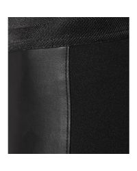 PAIGE - Black Paloma Faux Leather Leggings - Lyst
