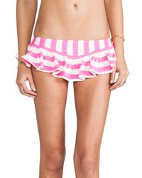 Juicy Couture | Skirted Bottom in Pink | Lyst