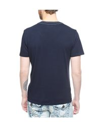 True Religion | Blue Live Fast Mens V-neck Tee for Men | Lyst