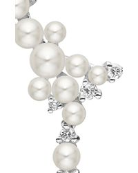 Paul Morelli | White Lagrange Pearl Trellis Earrings | Lyst