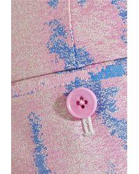 3.1 Phillip Lim - Pink Classic Pencil Jacquard Straight-leg Pants - Lyst