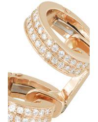Repossi - Pink Berbère 18karat Rose Gold Diamond Ear Cuff - Lyst