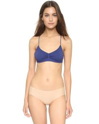 Free People | Blue Bella Coachella Seamless Strappy Back Bra - Merlot | Lyst