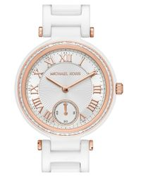 MICHAEL Michael Kors | Metallic 'mini Skylar' Bracelet Watch | Lyst