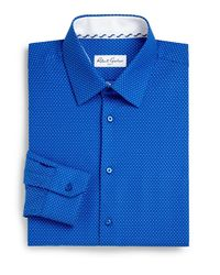 Robert Graham | Blue Clarence Mini Dot Dress Shirt for Men | Lyst